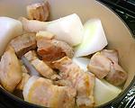 大根と豚肉の甘辛煮(5)