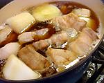 大根と豚肉の甘辛煮(6)