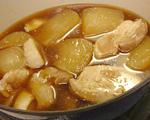 大根と豚肉の甘辛煮(8)